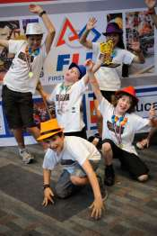 Happy 2nd place Australian FLL